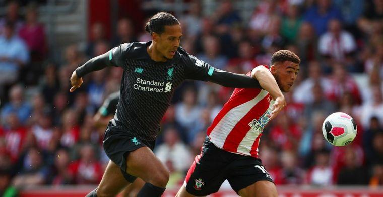 Liverpool ontsnapt bij Southampton na blunder Adrian, Engels en Wesley onderuit