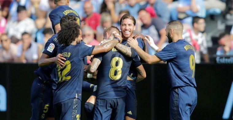 Wereldgoals Kroos en Vazquez helpen Real Madrid na rode kaart voor Modric