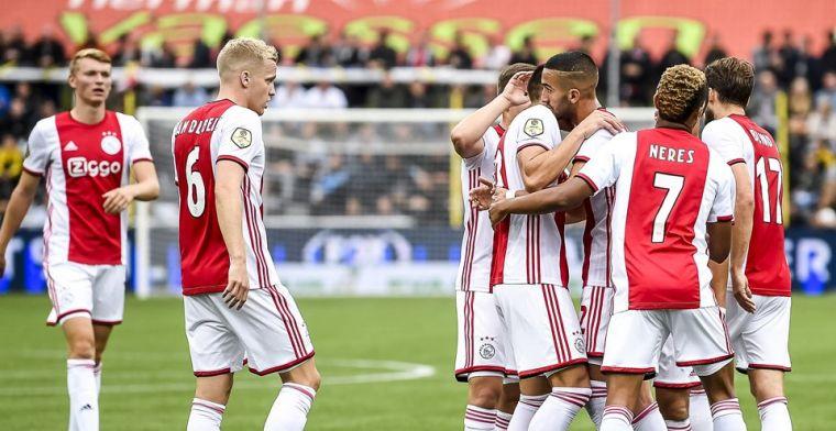 Ajax wint eenvoudig van defensief VVV, maar ziet Promes en Ziyech uitvallen