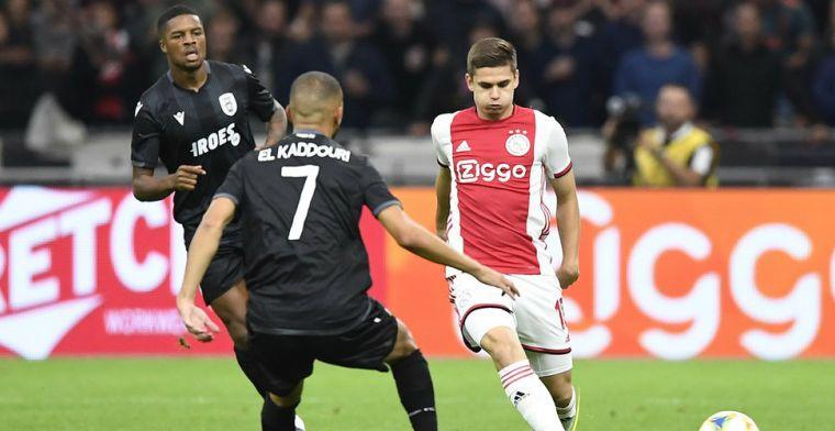 'We speelden een kansloze wedstrijd tegen Ajax, maar ik maakte blijkbaar indruk'