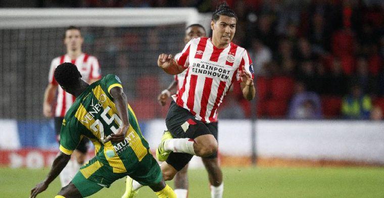 Gutíerrez maakt veel indruk bij PSV: 'Ik heb hem zitten turven'