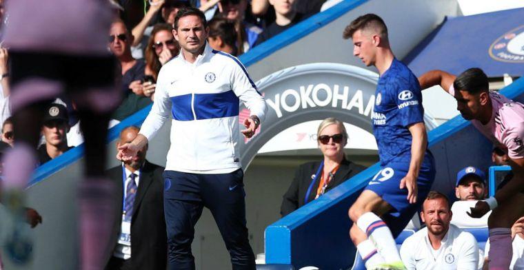 Opnieuw teleurstelling voor Chelsea en Lampard: bliksemstart krijgt geen vervolg