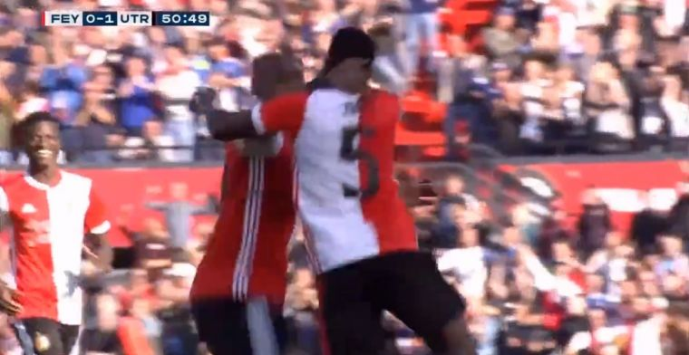 Boem! Haps maakt eerste voor Feyenoord, stand gelijk dankzij droge knal