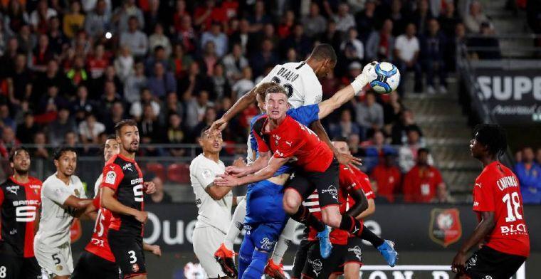 Paris Saint-Germain verliest met Meunier in tweede speelronde van Stade Rennes