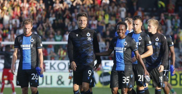 'Clement schuift Vossen helemaal naar de kant bij Club Brugge'