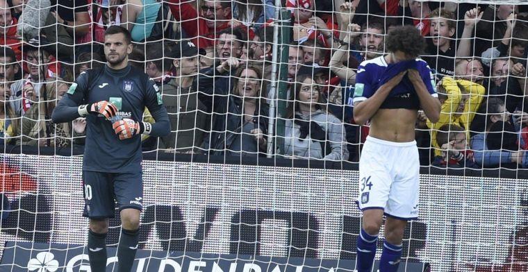 Wel of geen penalty voor Kortrijk tegen Anderlecht? Zijn reactie verraadt hem