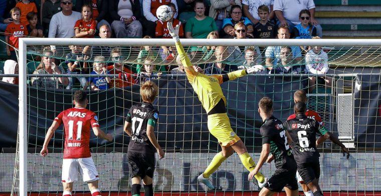 AZ verliest maximale score 'in eigen huis', FC Groningen blijft makkelijk overeind