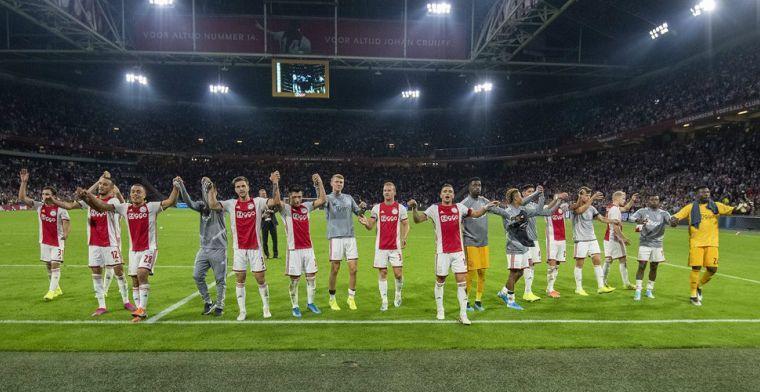 Ajax gewaarschuwd: 'Ze proberen scheidsrechter en tegenstander te intimideren'