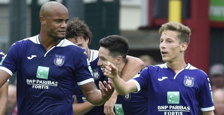 Anderlecht hapt naar adem: 'Kompany gebruikt geen fysiektrainer'