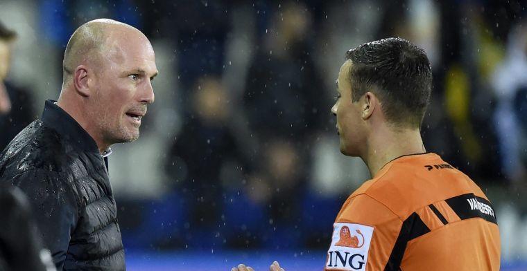 Scheidsrechterscommissie geeft Club Brugge gelijk: 'Het was een fout'