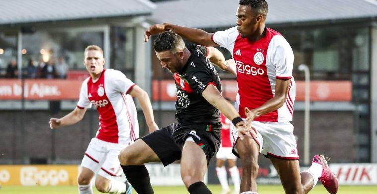 Jong Ajax geeft het uit handen tegen NEC, Excelsior wint opnieuw