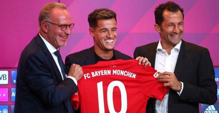 Bayern vraagt Robben om toestemming: 'Hij wenst Coutinho alle succes'