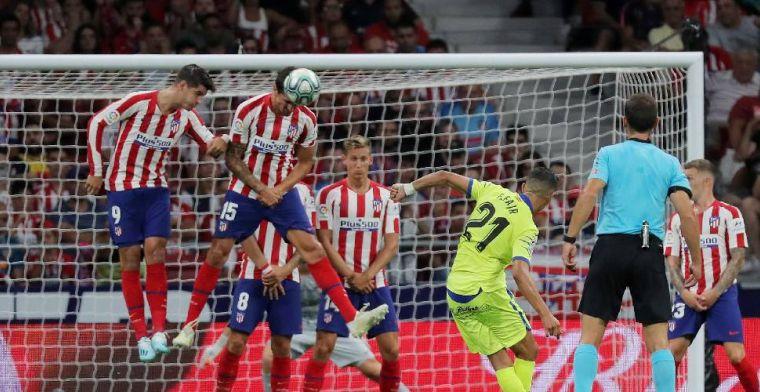 Atlético Madrid zegeviert tegen Getafe bij uitstekend debuut van João Félix