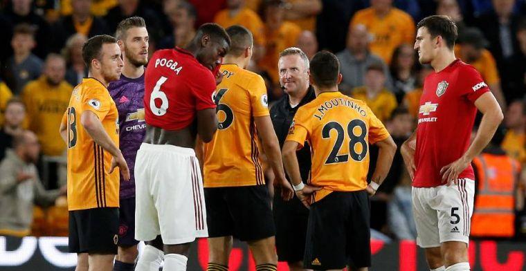 Manchester United glijdt uit na gemiste penalty Pogba en speelt gelijk