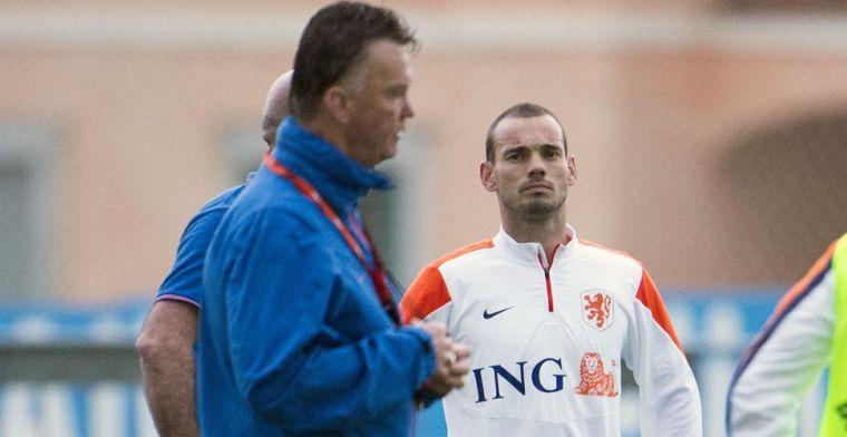 Sneijder over 'pijnlijke aanvaring' met Van Gaal: 'Hij heeft me heel diep geraakt'