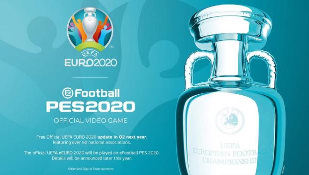 Opmerkelijk: PES zet aanval verder in op FIFA en hengelt nu ook EK 2020 binnen