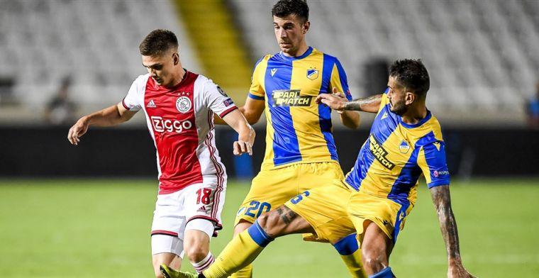 Ajax-aanwinst Marin gekapitteld: 'Vreselijke wedstrijd, gevaar voor de ploeg'