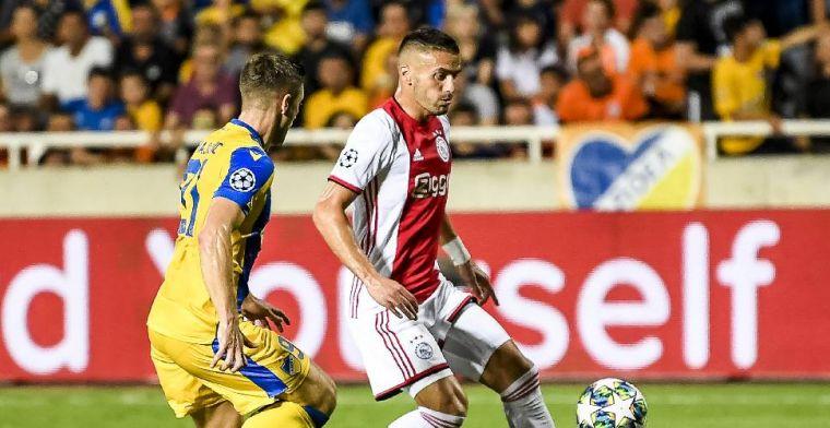Zwak Ajax geeft niet thuis op Cyprus en komt goed weg met gelijkspel