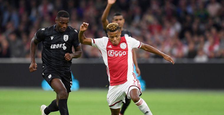 'Ikwaardeer hoe ik ben behandeld door Ajax, ik hou van de club, voel me goed'