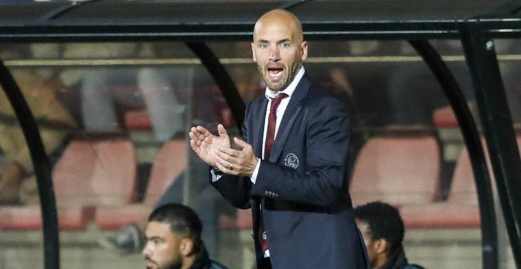 'Andere dynamiek' bij Jong Ajax voor Van der Gaag: 'Liefst zo jong mogelijk'