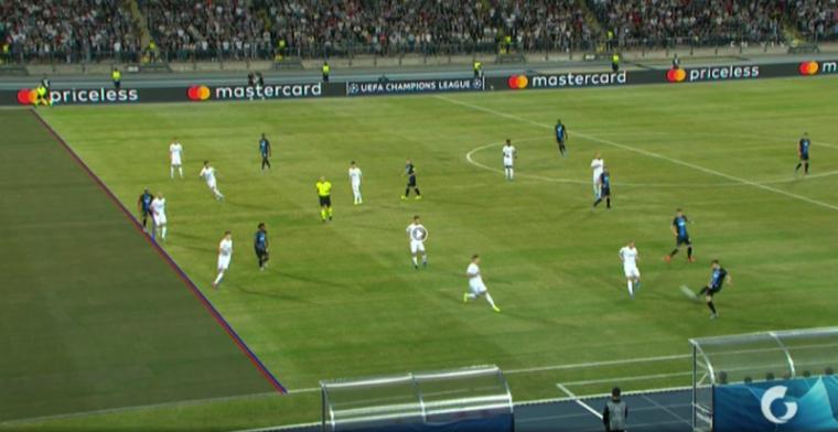 Penalty voor Club Brugge was terecht in Europa, maar niet in Belgische competitie