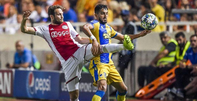 Ajax stelt teleur in Nicosia: We zijn halverwege, er is niets aan de hand