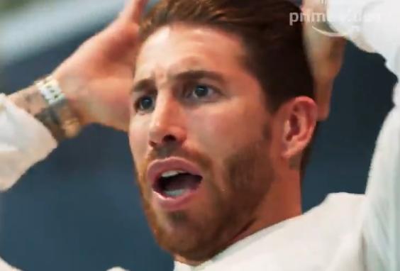 Nooit eerder vertoond: Ramos' reactie op eerste Ajax-goal in Madrid