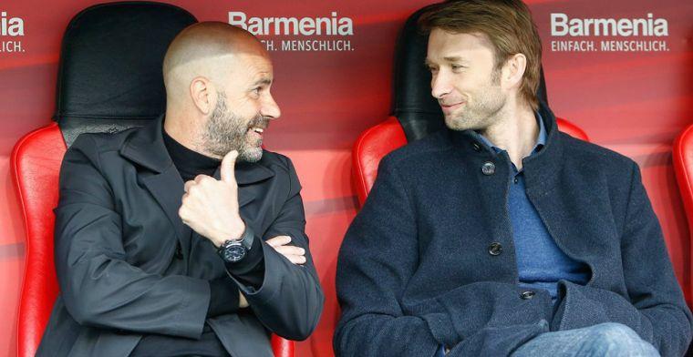 'Zeer tevreden' Leverkusen wil succestrainer Bosz belonen met nieuw contract