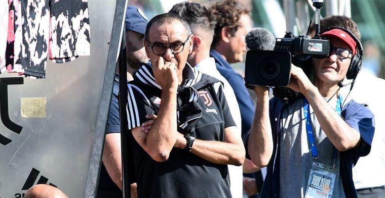 Juventus geeft update over Sarri: Italiaan mist eerste twee competitiewedstrijden