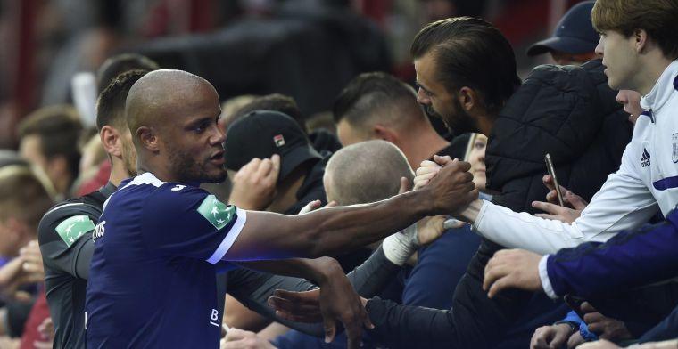 Anderlecht maakt een bocht: Davies is de baas, Kompany wordt captain