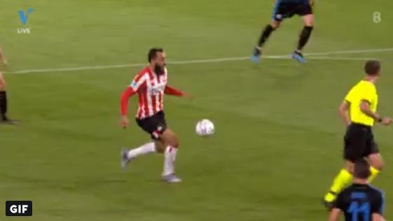 Mitroglou gooit direct trucendoos open bij eerste actie in PSV-shirt
