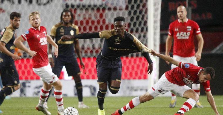 AZ recht de rug in Enschede en speelt gelijk tegen Royal Antwerp