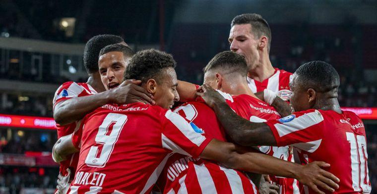 PSV ontbrandt na moeizame eerste helft en kan Europa League-groepsfase ruiken