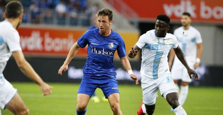 Gent komt op achterstand, maar wint alsnog van Rijeka