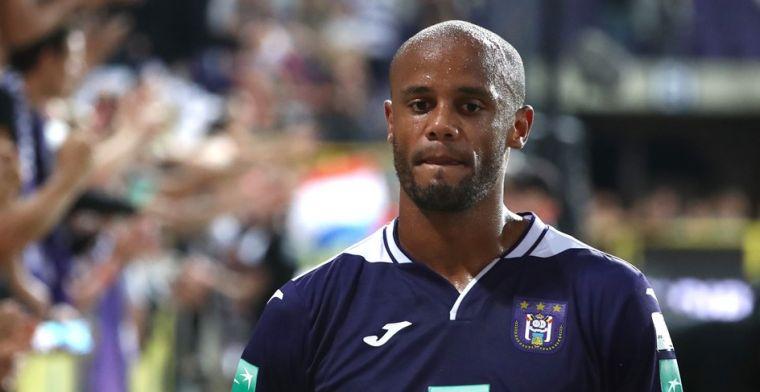 Ingreep bij Anderlecht: speler/coach Kompany doet nu al stapje terug