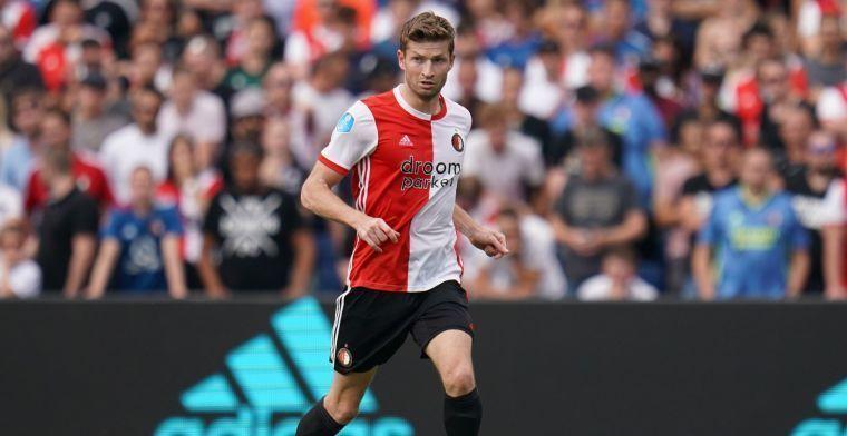 Van der Heijden op weg naar Feyenoord-uitgang: 'Beter om er niet bij te zijn'