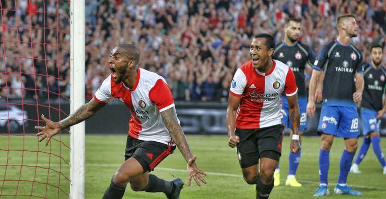 Bijna hele wedstrijd voor Feyenoord: Ik was vermoeid, maar het zijn stappen