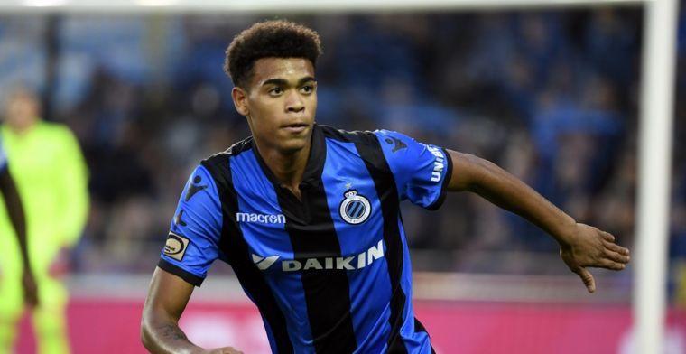 UPDATE: 'Club Brugge stalt Ngonge (19) een jaartje bij PSV Eindhoven'