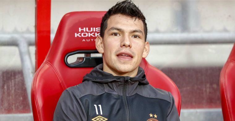 PSV bevestigt vertrek Lozano: 'Bedankt voor alles en veel succes in Italië'