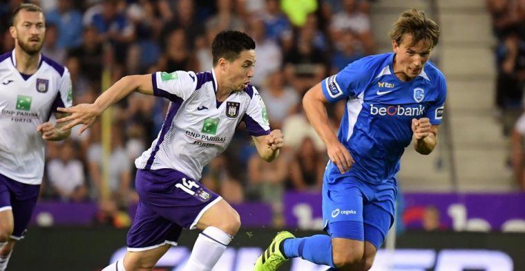Experiment-Nasri slaagt niet bij Anderlecht: 'Moet véél beter kunnen'