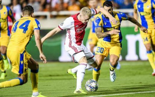 Afbeelding: Maduro schetst Ajax-mogelijkheden: 'Een van betrouwbare spelers op middenveld'