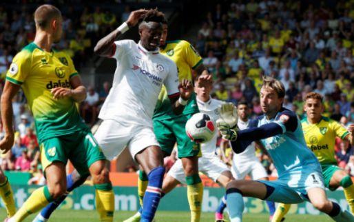 Afbeelding: Abraham schiet Chelsea in doelpuntrijk duel langs Norwich City en Krul