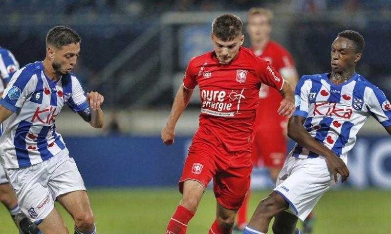 Afbeelding: Heerenveen weet kansen niet te benutten en speelt gelijk tegen Twente
