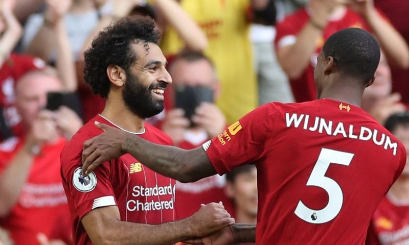 Afbeelding: Koploper Liverpool schudt Arsenal probleemloos van zich af en blijft foutloos