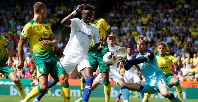 Batshuayi ziet concurrent Abraham schitteren bij Chelsea-zege op Norwich City