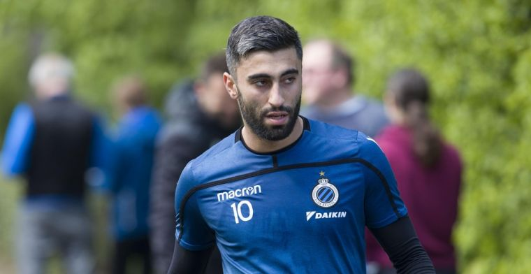 UPDATE: 'Charleroi huurt Rezaei van Club Brugge zonder aankoopoptie'