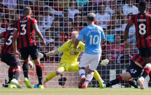 Afbeelding: Fabelachtige vrije trap kan Manchester City niet deren in Bournemouth