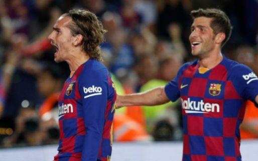 Afbeelding: FC Barcelona en De Jong herstellen zich en boeken eerste overwinning