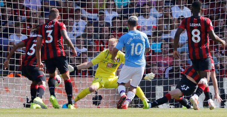 Fabelachtige vrije trap kan Manchester City niet deren in Bournemouth
