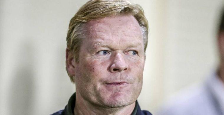 Koeman pleit voor wijziging in basiself Ajax: Mijn persoonlijke voorkeur